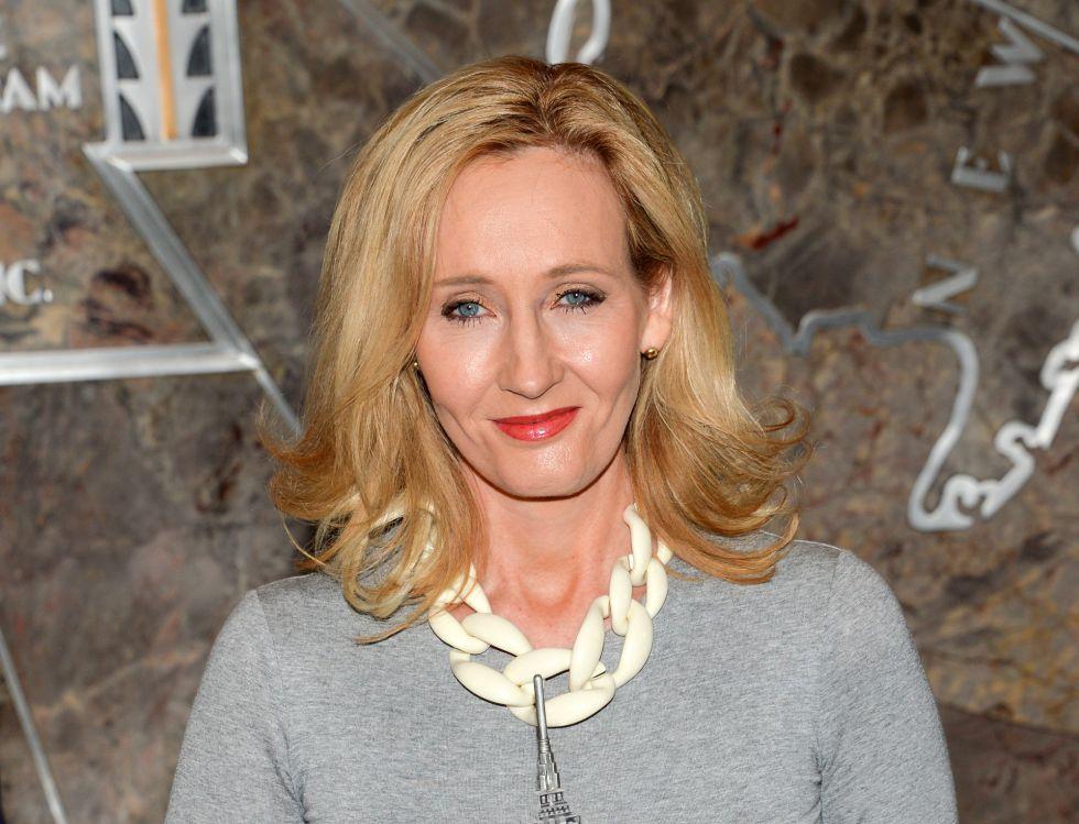 La escritora J. K. Rowling, en una imagen del 9 de abril de 2015 en Nueva York.