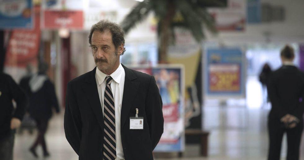 Vincent Lindon, en un fotograma de 'La ley del mercado'.