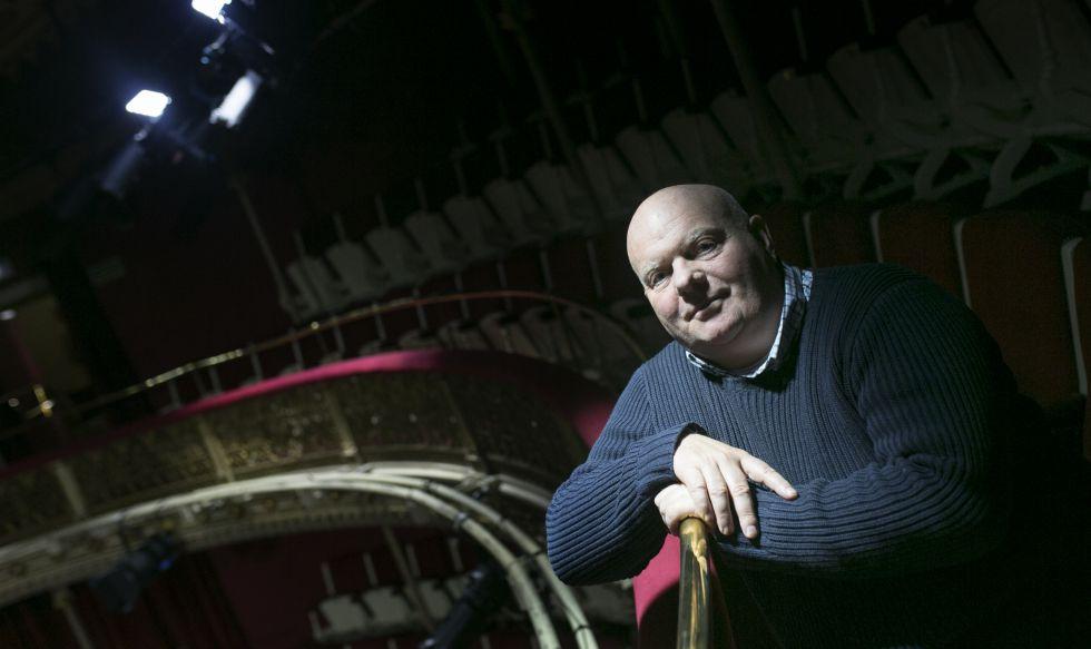 El director teatral Declan Donnellan, en el Teatro María Guerrero de Madrid.