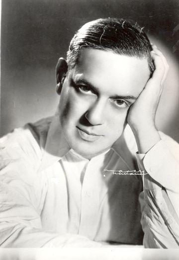 El compositor cubano Ernesto Lecuona.