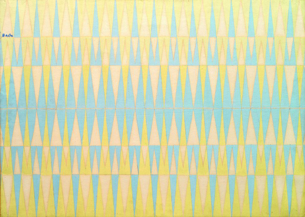 Compenetración iridiscente n.º 4 (1912-1913), de Giacomo Balla