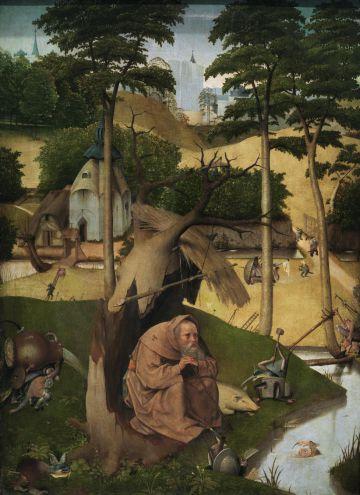 'Las tentaciones de San Antonio Abad' (1490), de El Bosco, en el Prado.