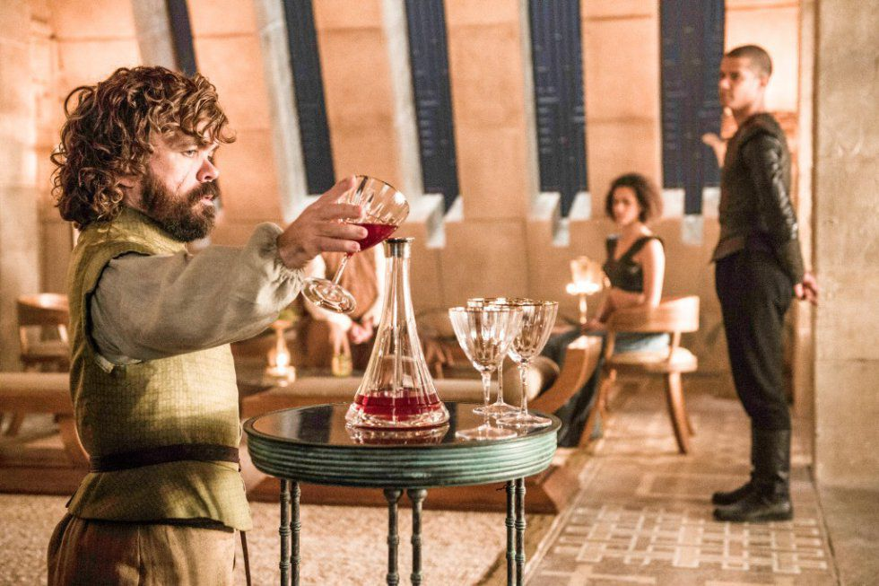 Tyrion Lannister, en una imagen de la sexta temporada de 'Juego de tronos'.