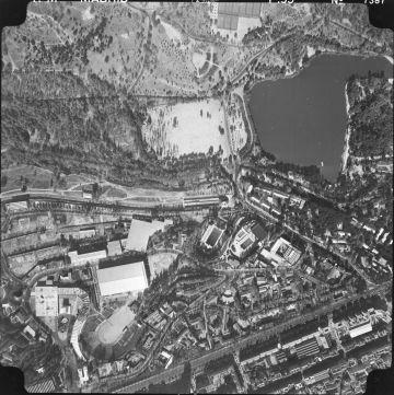 Vista aérea de la Feria del Campo.