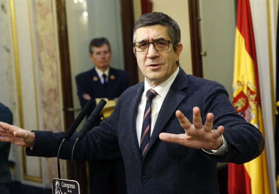 El presidente del Congreso, Patxi López, en una imagen de la semana pasada.