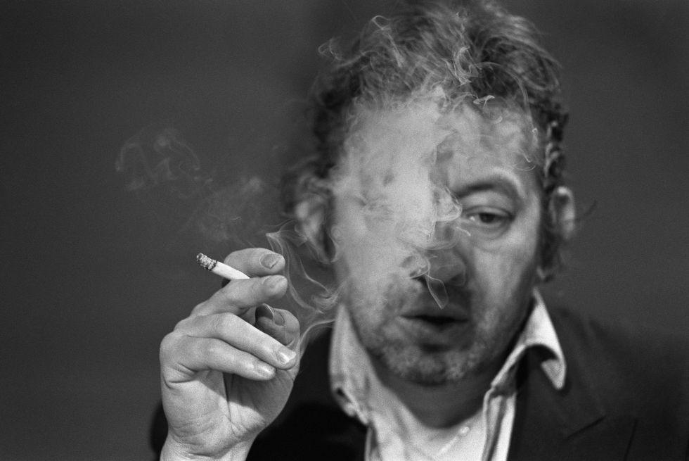 Serge Gainsbourg, en una imagen tomada en 1984 en París.