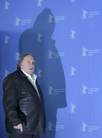 Gérard Depardieu llega al 'photocall' de 'Saint-Amour'.