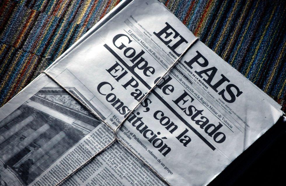 Portada de la edición especial de EL PAÍS del 23-F.