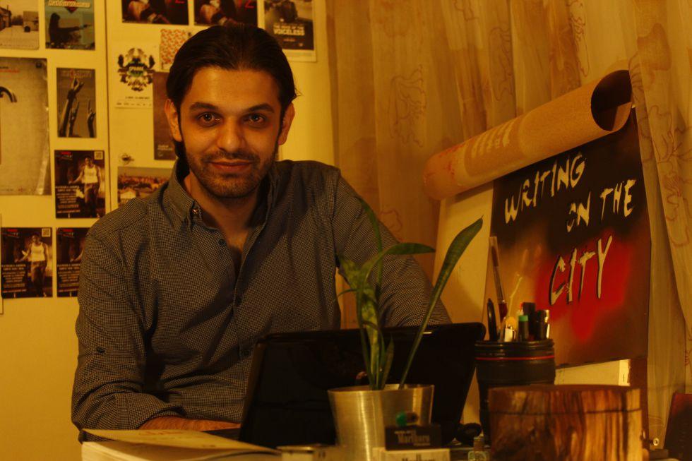 El cineasta iraní Keywan Karimi.