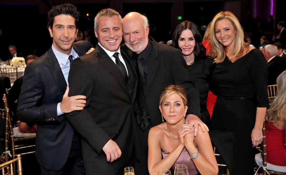 Así fue la reunión de 'Friends' para el homenaje a James Burrows