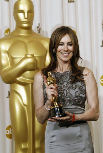 Kathryn Bigelow, primera y única cineasta de la historia en ganar un Oscar a la mejor dirección, en 2010.