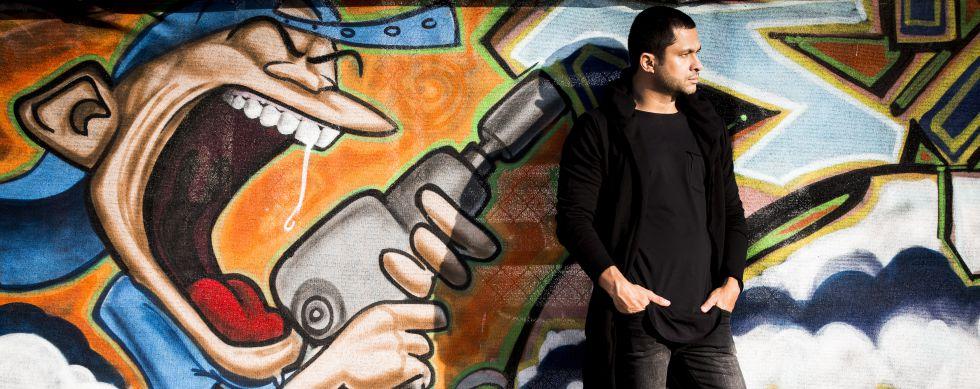 Andrés López, exnarcotraficante y escritor de cuatro novelas sobre el narcotráfico.