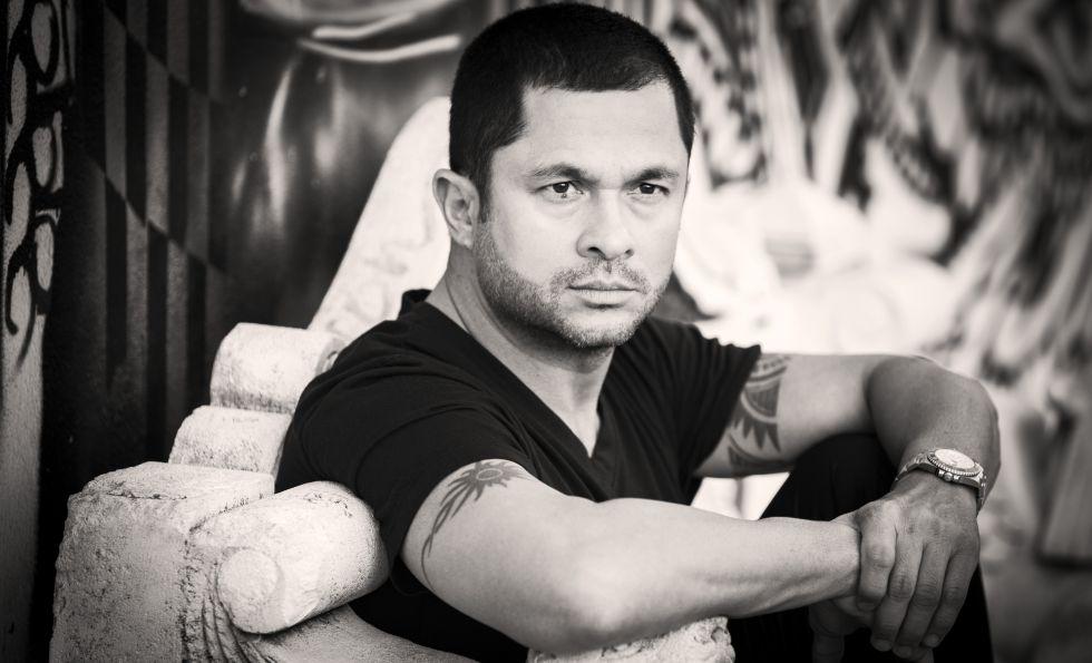 El escritor Andrés López.