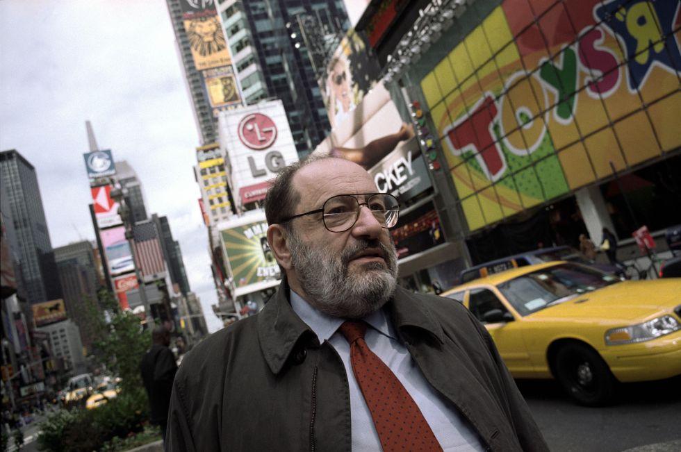 Umberto Eco en Nueva York en 2002.