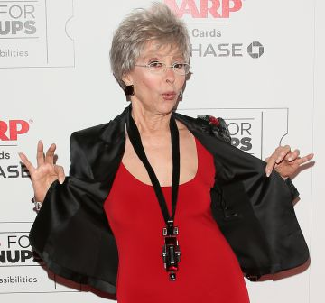 Rita Moreno en Beverly Hills el pasado 8 de febrero.