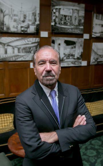 El coleccionista Jorge Pérez, en Madrid, esta semana.