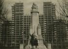 La Torre España, alegoría de la ciudad