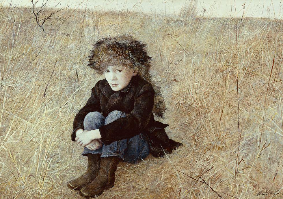 Museo Thyssen: 'Lejanía' Andrew Wyeth
