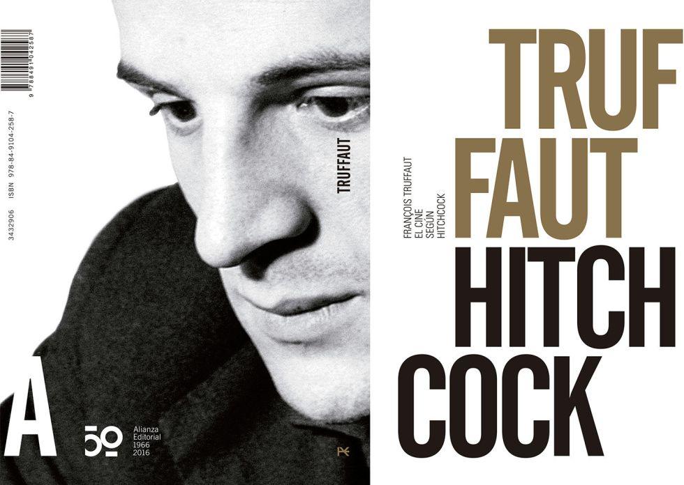 Nueva portada de 'El cine según Hitchcock', de Truffaut.