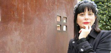 La escritora Wendy Guerra.