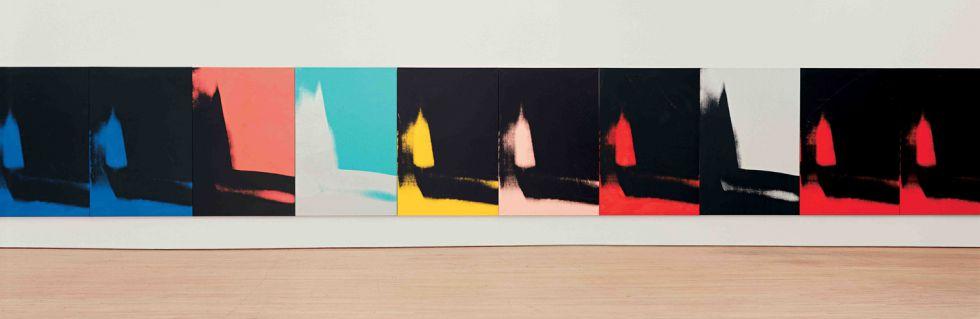 'Sombras', de Andy Warhol.