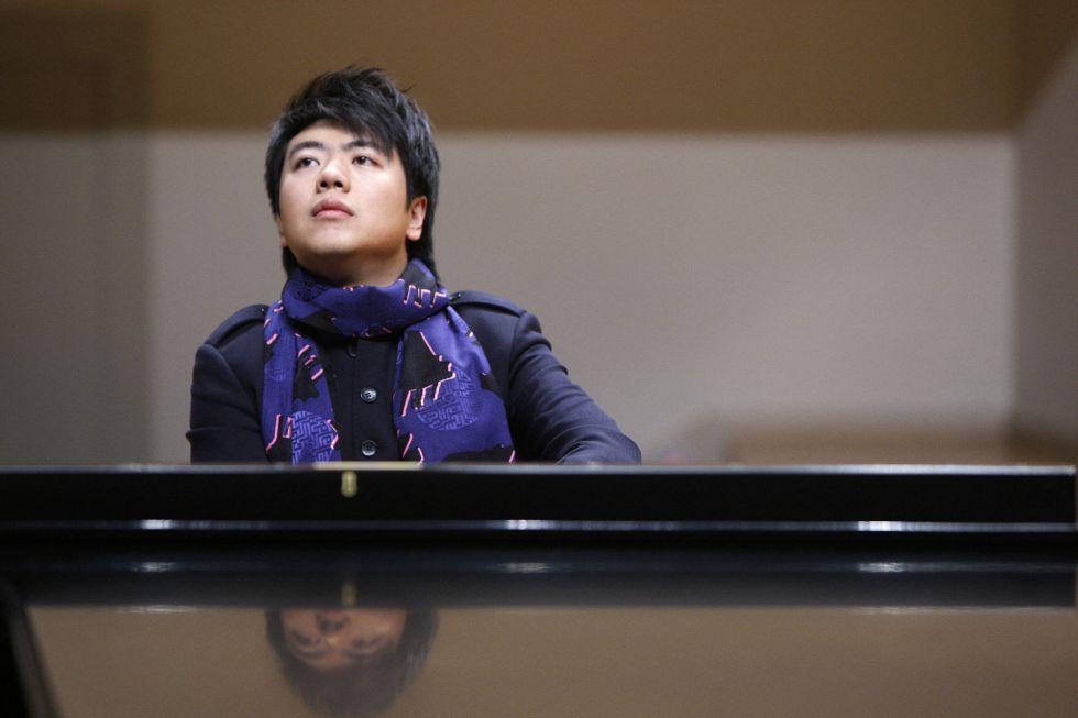 El pianista chino Lang Lang.