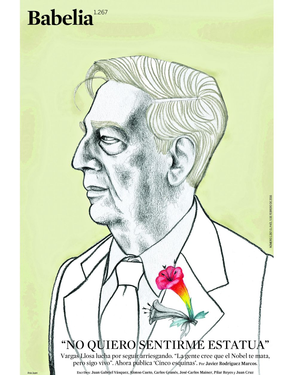 Ilustracíon de Ana Juan.