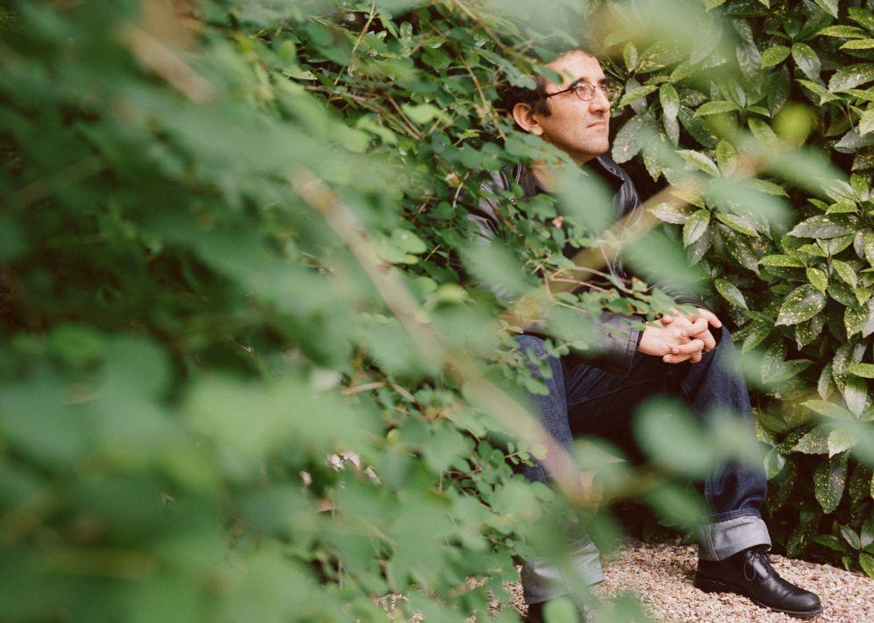 Roberto Bolaño, retratado en 2002.