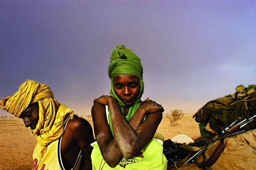 Fotografía tomada en Darfur (Sudán).