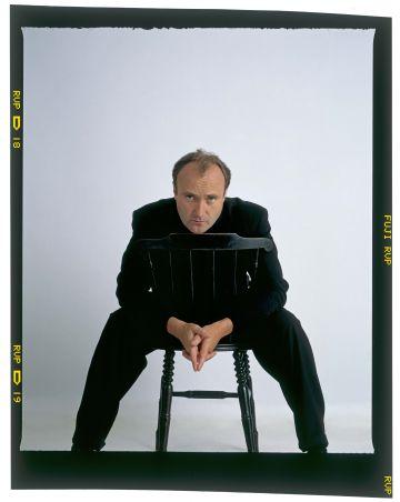 El músico Phil Collins en una imagen promocional.