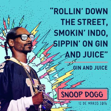 El rapero californiano Snoop Dogg