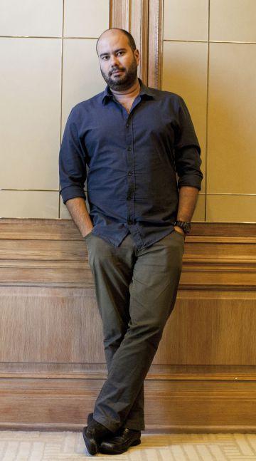 Ciro Guerra, director colombiano, en Los Ángeles.