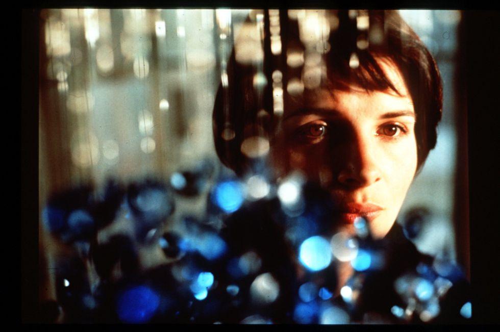 Juliette Binoche, en un fotograma de 'Azul'.