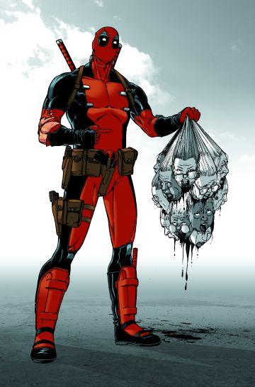 Ramón Rosanas dibuja a Deadpool.