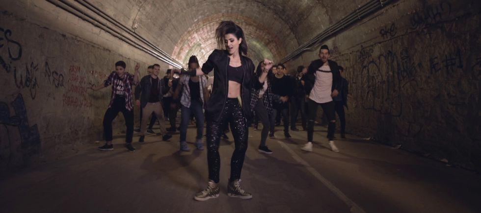 Un momento del videoclip de 'Say yay!'