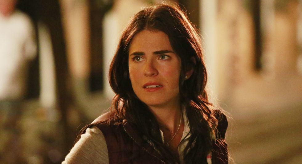 Karla Souza interpretando a Laurel Castillo en 'How to get away with murder'.