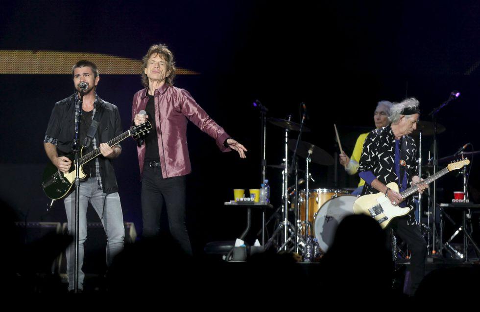 The Rolling Stones y Juanes en Bogotá.