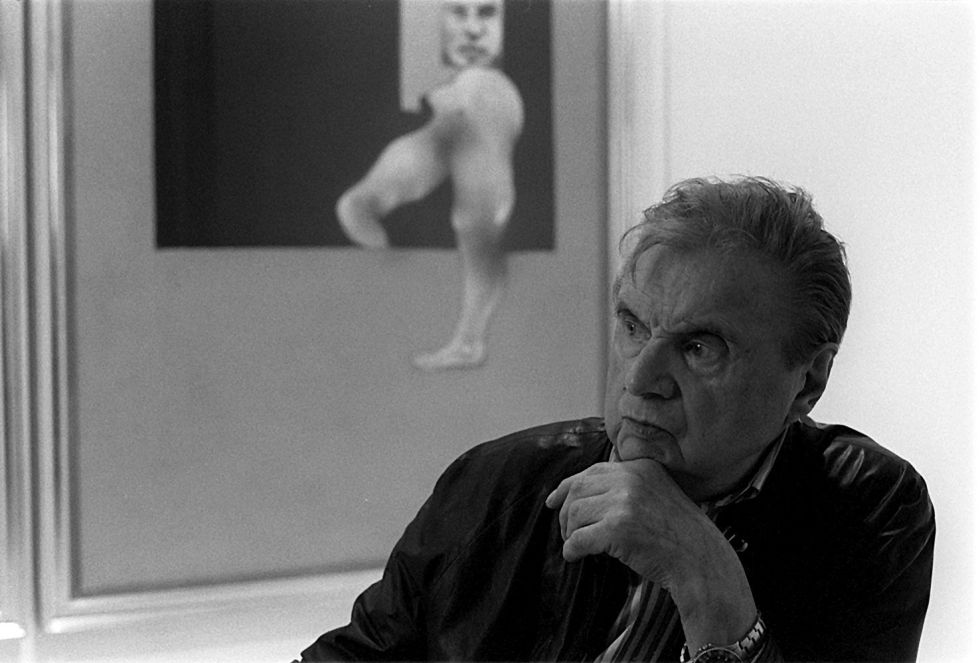 Francis Bacon in 1991.