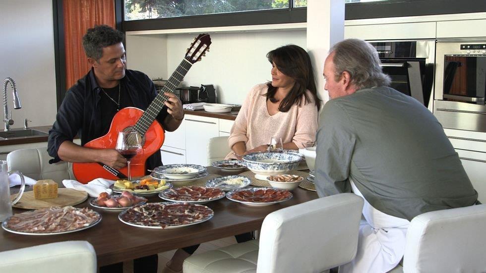 Alejandro Sanz, durante su participación en el programa 'En la tuya o en la mía'.