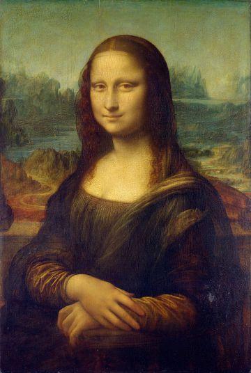 'La Gioconda', que se exhibe en el Museo del Louvre de París.