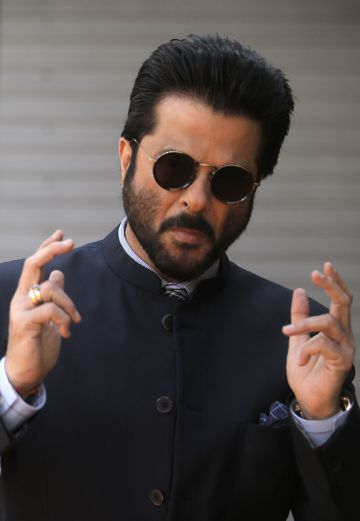 El actor de Bollywood Anil Kapoor.