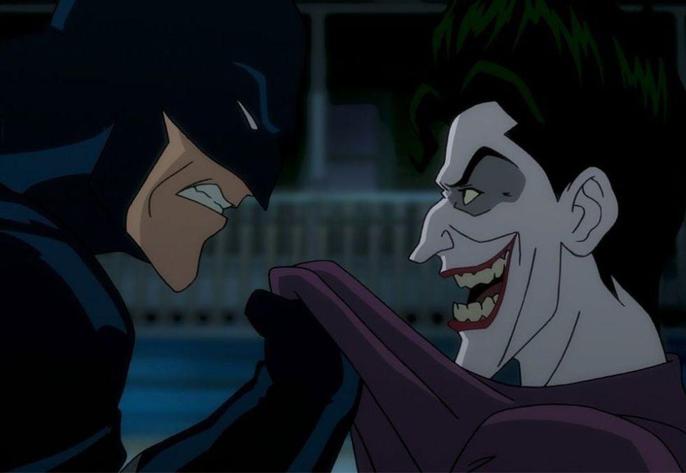 Primera imagen de 'Batman: la broma asesina'.