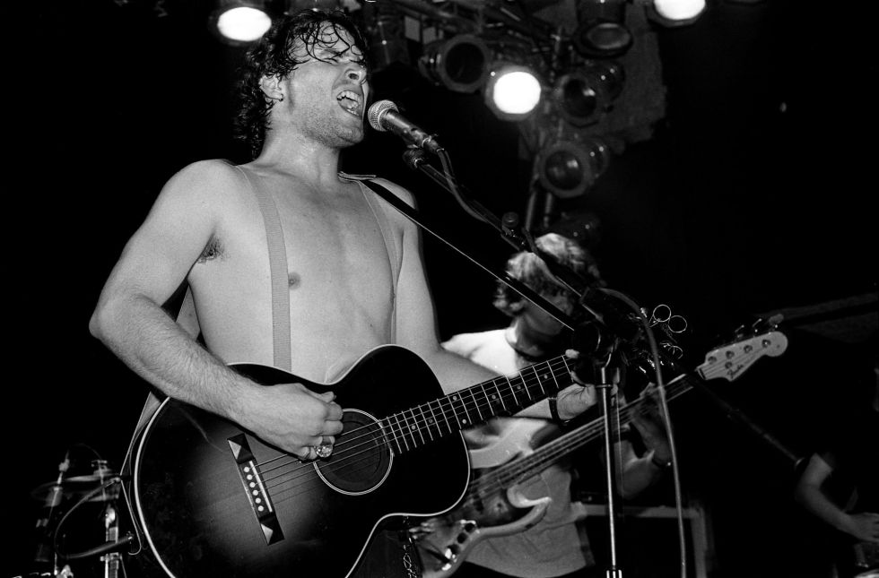 Jeff Buckley, en un concierto en The Garage, Londres, en 1994.