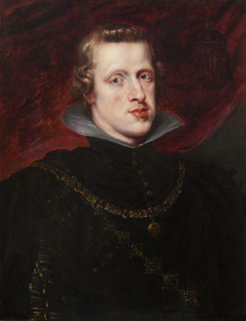 'Felipe IV' (1628-29), pintado por Peter Paul Rubens, cuando el monarca tenía 23 años.