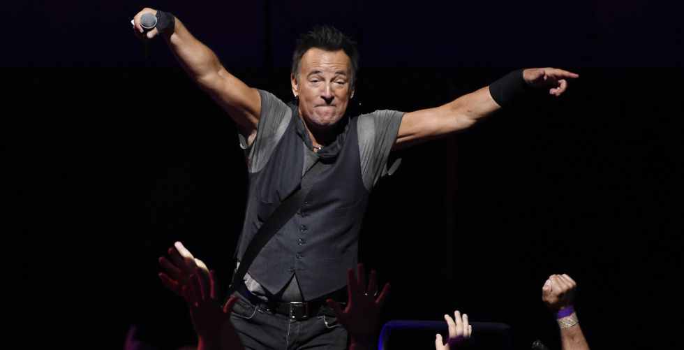 Bruce Springsteen, durante un concierto esta semana en Los Ángeles.