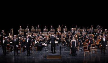 La Mahler Chamber Orchestra durante el concierto.