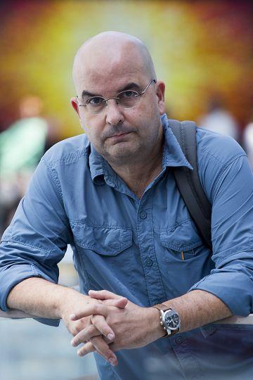 Eduardo Lalo, ayer en el Congreso de la Lengua Española.
