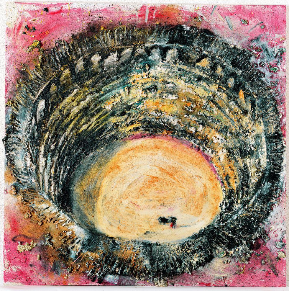 Otra de las obras de Barceló expuestas en las muestras en París.