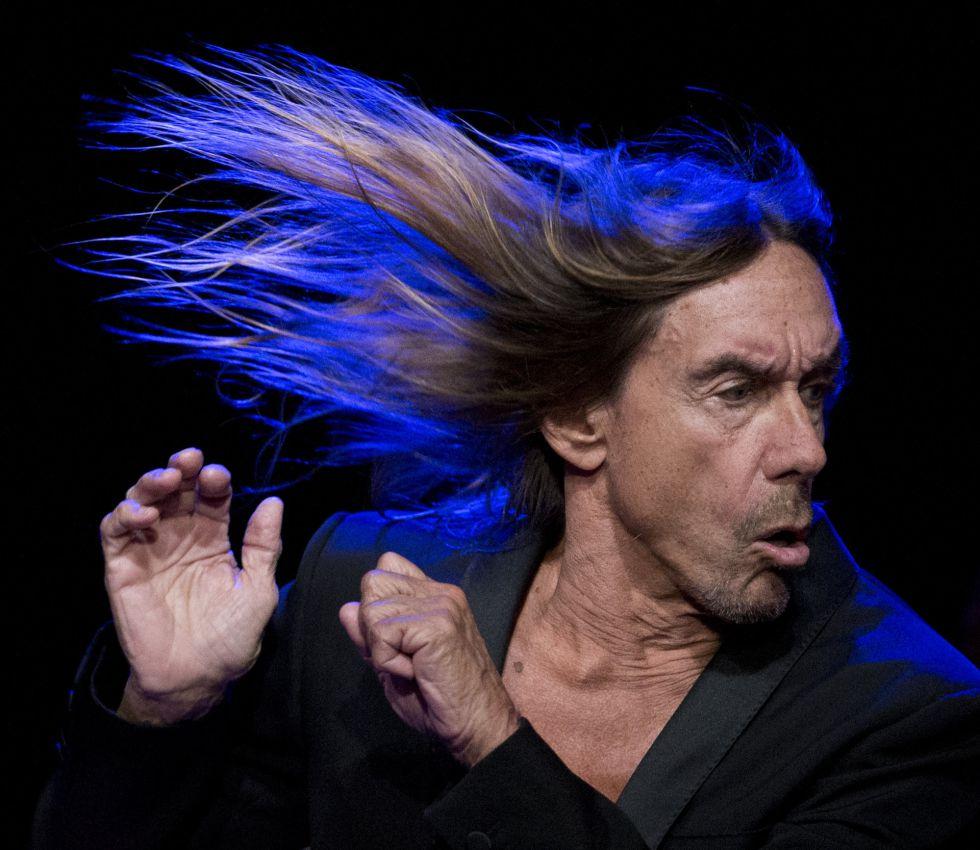 Iggy Pop, durante una actuación en Austin el pasado 15 de marzo.