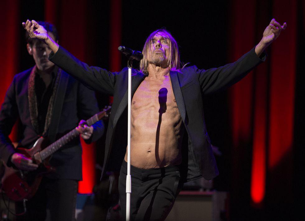 Iggy Pop, en su concierto del pasado 16 de marzo en el festival SXSW de Austin.